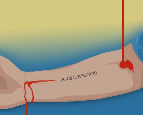 Jesus loves you...