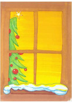 Tree Window Card