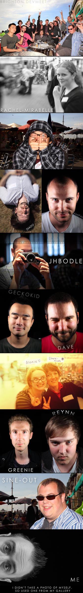 DevMeet Collage - July 2010 by AdamShepherd