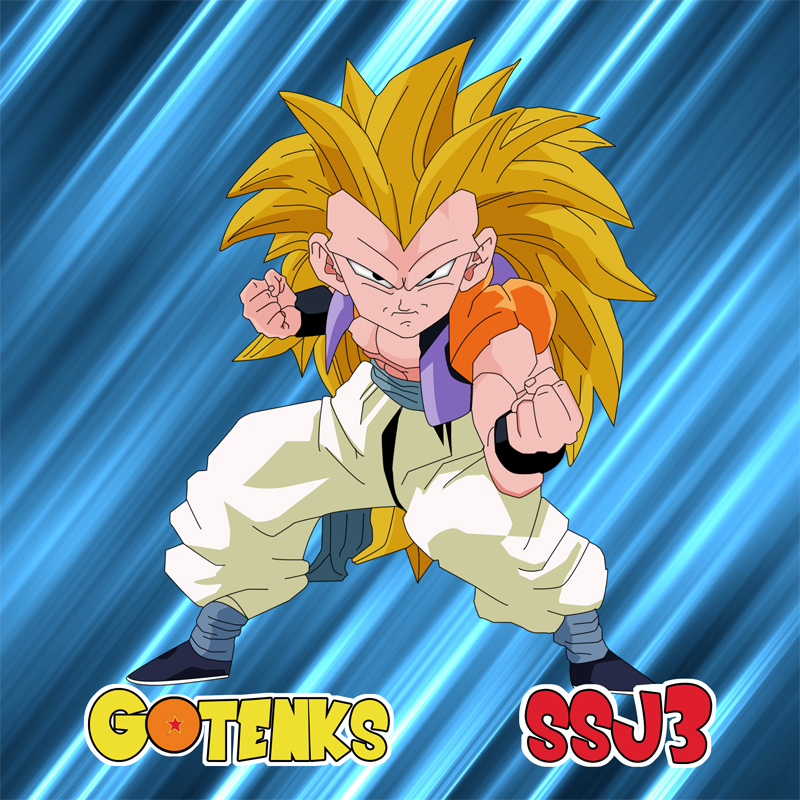 Gotenks Super Saiyan 3 by FounderBamboo on DeviantArt