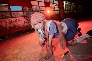 Mirai Nikki||Yuno Gasai by sosochan1314