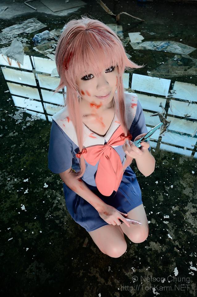 Yuno mirai nikki cos by SoSo by sosochan1314