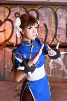 Chun-Li cosplay by sosochan1314