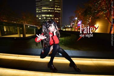 Fate Stay Night - Rin Tohsaka by sosochan1314