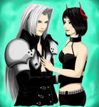 Comm: Sephiroth and Rem ~ Love In Our Eyes