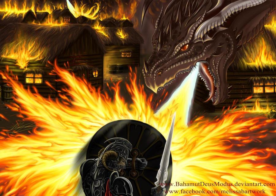 Dragon Rage by BahamutDeusModus