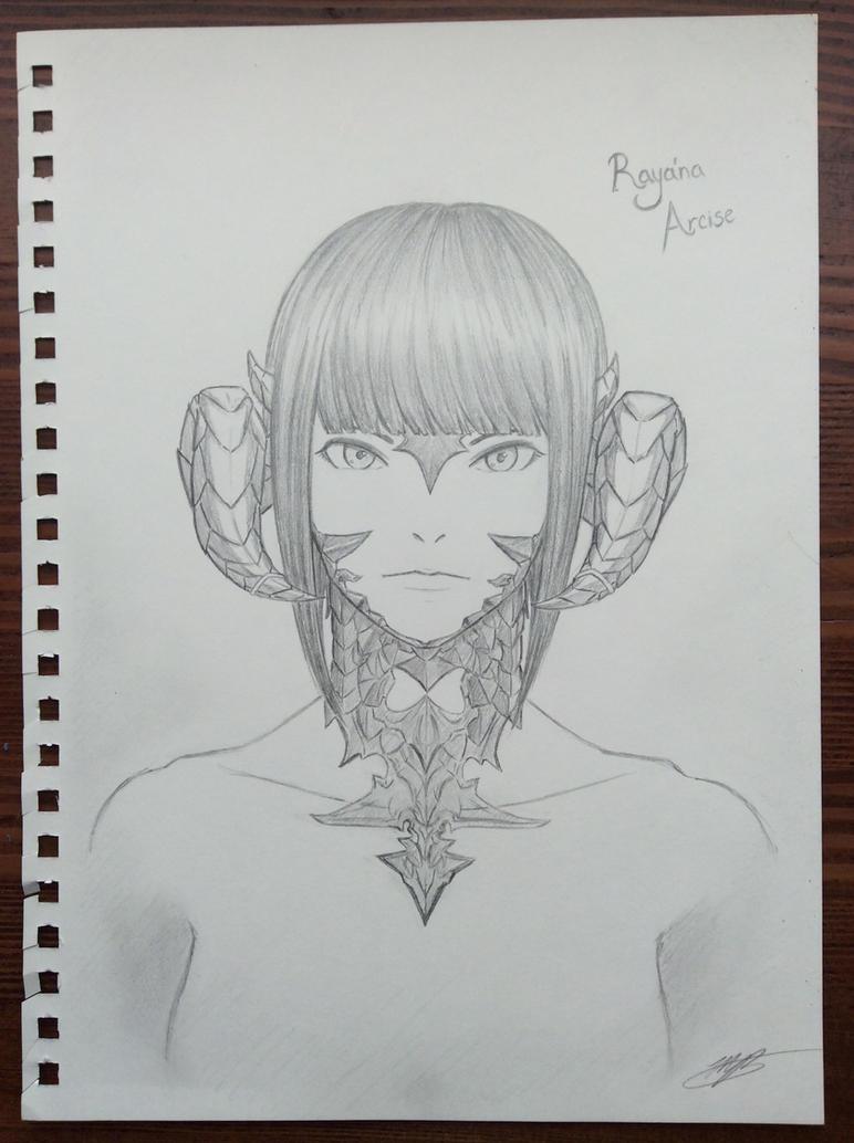 Raya'na Arcise by BahamutDeusModus