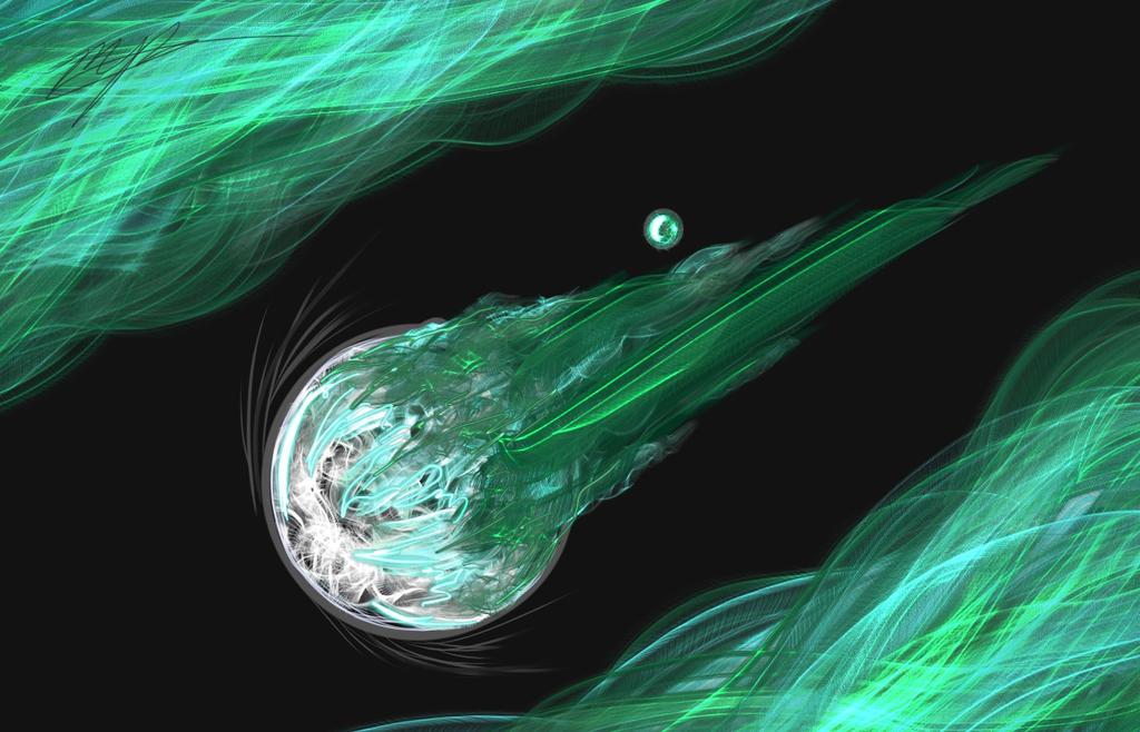 FFVII speedpaint, Meteor by BahamutDeusModus on DeviantArt
