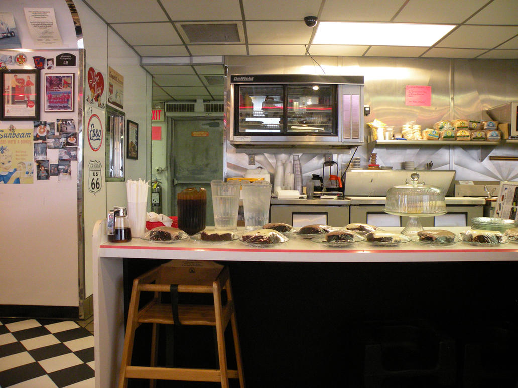 Diner Stock by CameraGirls