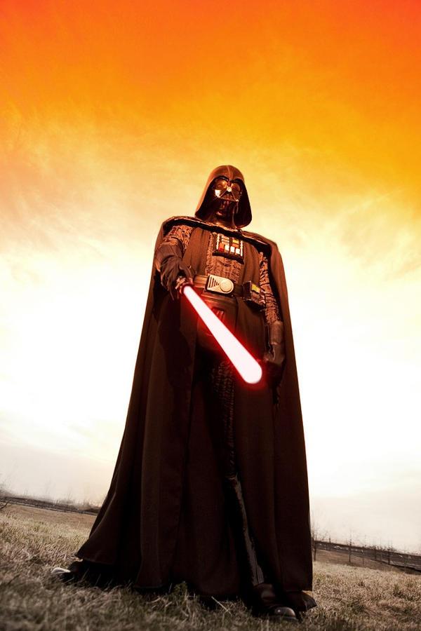 Darth Vader 1 by Etienne-Magique