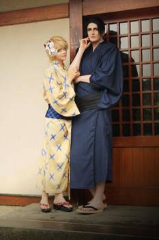Viewfinder: Asami and Takaba (Yukata)