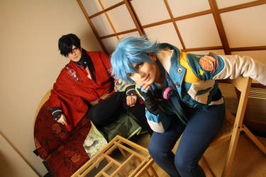 Dramatical Murder - Koujaku and Aoba 3
