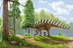 La Amarga Formation stegosaur