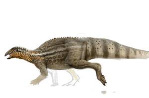 Tenontosaurus, (color pattern experiment)