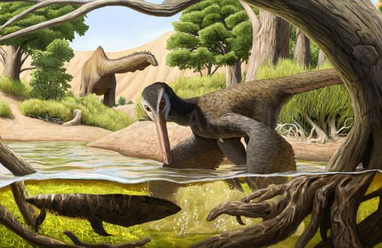 Buitreraptor in the Kokorkom Desert