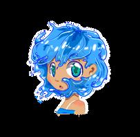 Aqua (Aquarious) by BijouBlue