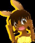 YangYellow, the paleontologist bunny queen of DA.