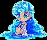 Aqua (Chibi ver) by BijouBlue