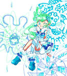 Pokemon ORAS! Lucia~  { 25 Days of Sketches }