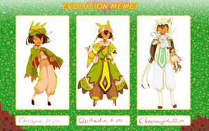 Aiichiro's Evolution Meme! {Lotus Town} by BijouBlue