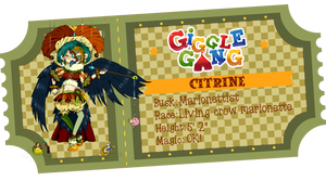 Josephine {Giggle Gang app} by BijouBlue