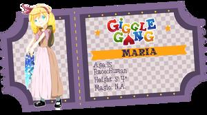 Maria {GGNPC} by BijouBlue
