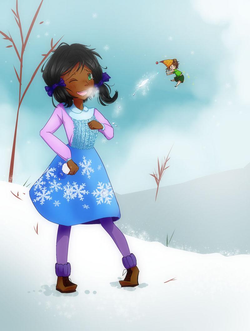 SNOWBALL FIIIIIGHT {SS for Pure} by BijouBlue