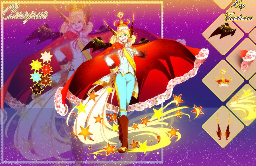 Casper {MYO Elomimi Event} by BijouBlue
