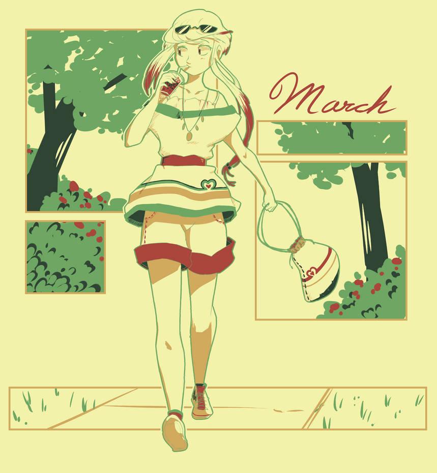 Eva March Palette {MHA} by BijouBlue