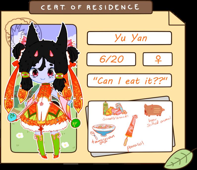Yu Yan {Cacteens Application} by BijouBlue