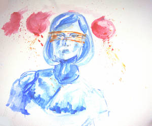 EDI watercolor sketch by Norimitto