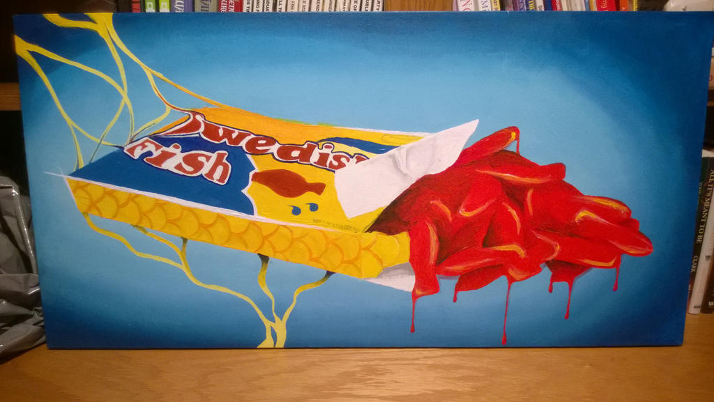 Melting swedish fish by berketch on deviantart for Places that sell fish near me
