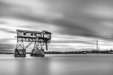 Old coal loader on the River III. by midnightlife