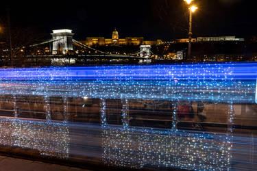 Christmas LightTram, Budapest