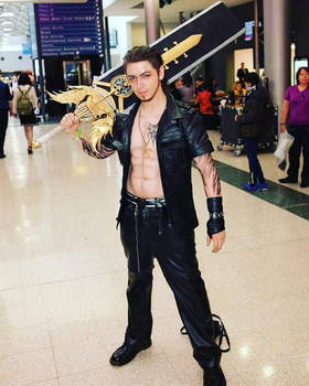 Gladiolus Final Fantasy XV cosplay by CocoDeathMetaller