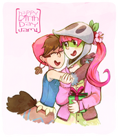 Happy Birthday, Very Pink Lady! by KayVeeDee