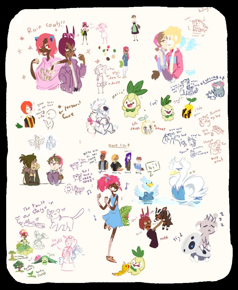 Oodles Of Doodles by KayVeeDee