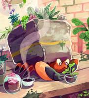 Garden Helper by KayVeeDee