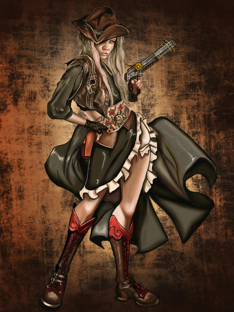 Apocalyptic Cowgirl by DarkPrincessLauren