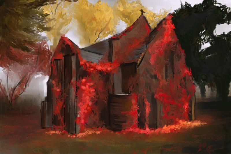 Cottage by DarkPrincessLauren