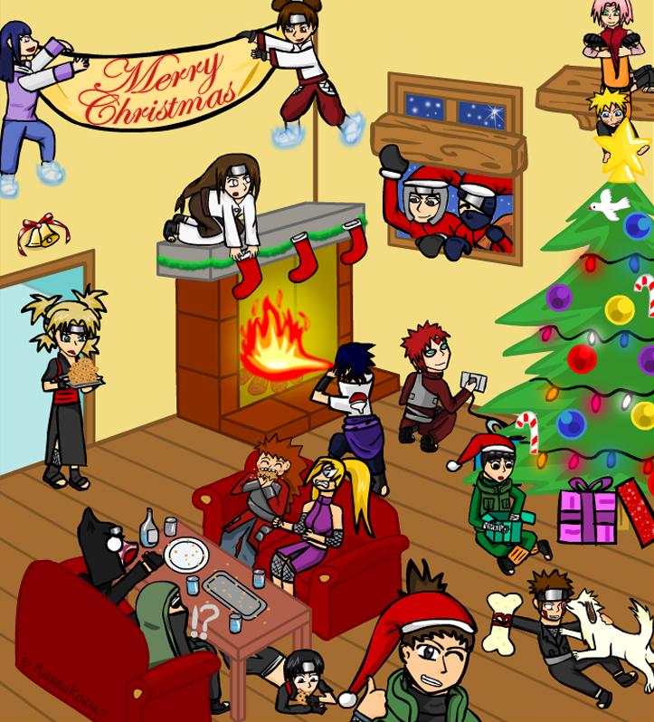 Šťastné a Veselé Vianoce + všetko naj do roku P.F. 2012 Naruto_Christmas_by_MaidenKonan27