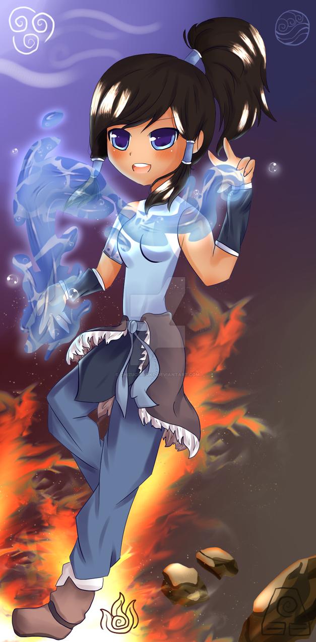 Avatar Korra by chizuchiyoko