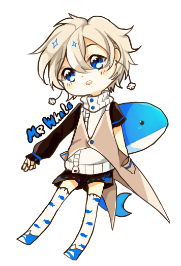 LYEL WHALE HE MY OC I LOVE MY MR.WHALE OC by dewli