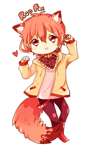 BOORU'S RED FOX CUTEUCUUTECUTE RED FOX HEARTS !!1 by dewli