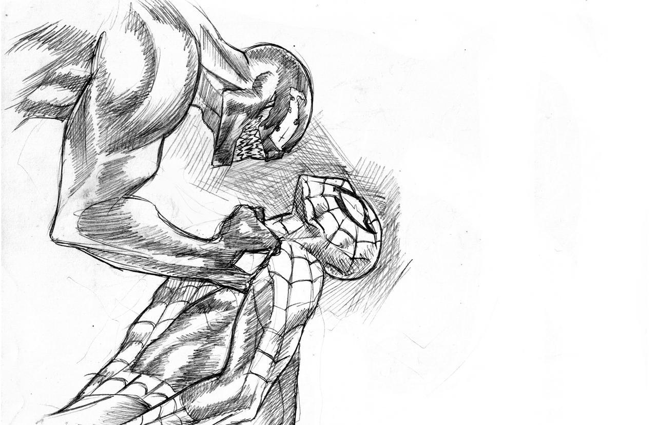 Daily Sketch: Venom by Santini