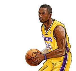 Kobe Bryant by Santini