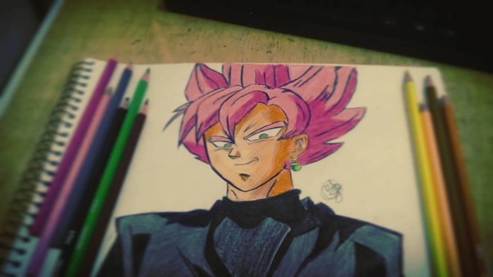 Black Goku by VitorDrawings