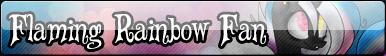 [F2U] Flaming Rainbow Fan by EsraDavut