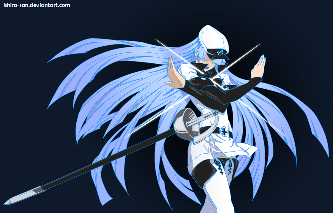 Wallpaper esdeath akame ga kill 4k anime 2604 -  13 Esdeseesdeath Akame Ga Kill By Ishira San On Deviantart