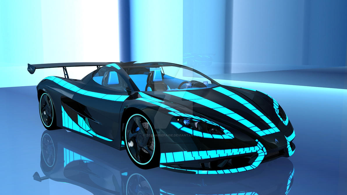 Tron: Wraith Car by ZoeMariePaige